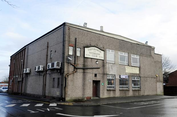 Plans to turn Farnworth Veterans Club into shops and a restaurant