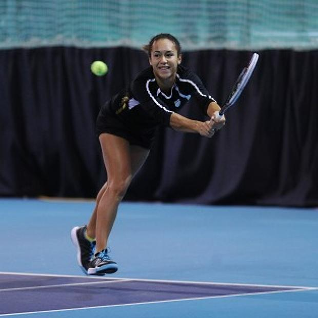 The Bolton News: Heather Watson is one win away from entering the first round of the Australian Open