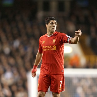 Luis Suarez has been crowned December's Barclays Premier League player of the month