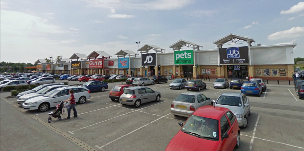 Parsonage Retail Park in Leigh. Picture from Google Maps.