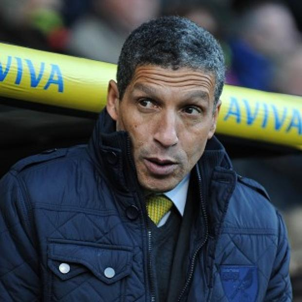 The Bolton News: Norwich City's Manager Chris Hughton's job is safe for now