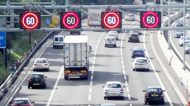 The government plans to use variable speed limits on motorways around Bolton