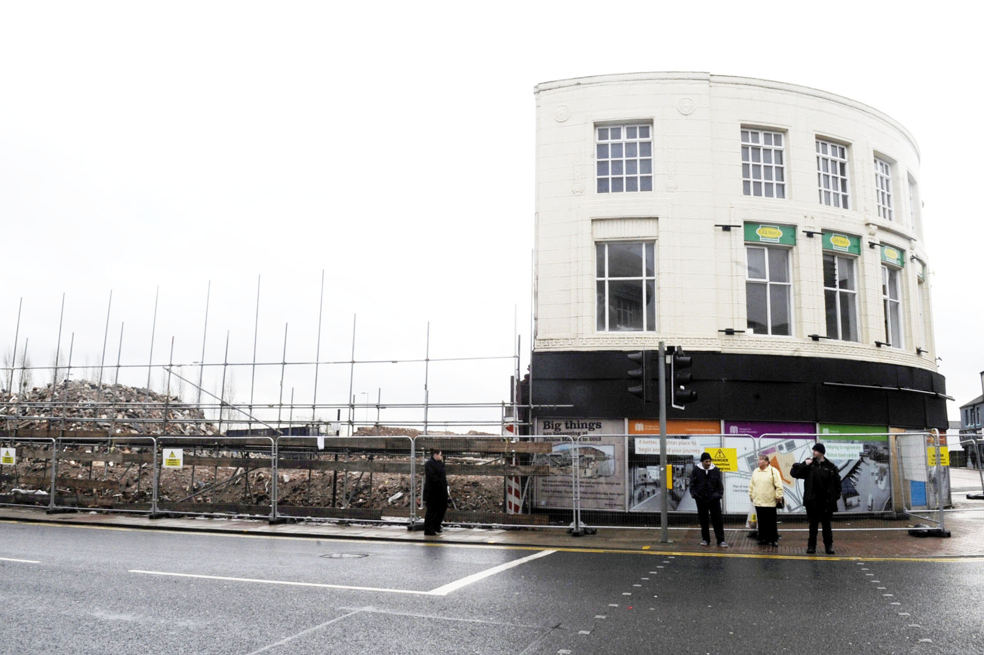 Newport Street to close as Bolton town centre demolition continues