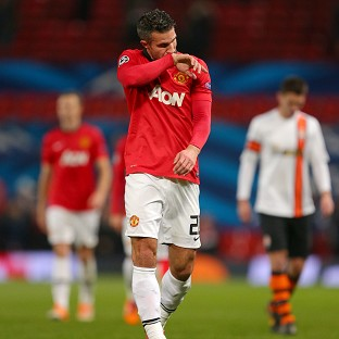 Robin van Persie has not featured for Manchester United since December 10