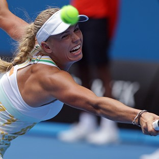Caroline Wozniacki failed to make the quarter-finals for the eighth successive slam (AP)