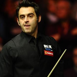 Ronnie O'Sullivan, pictured, overcame Stephen Maguire 6-2 in their semi-final