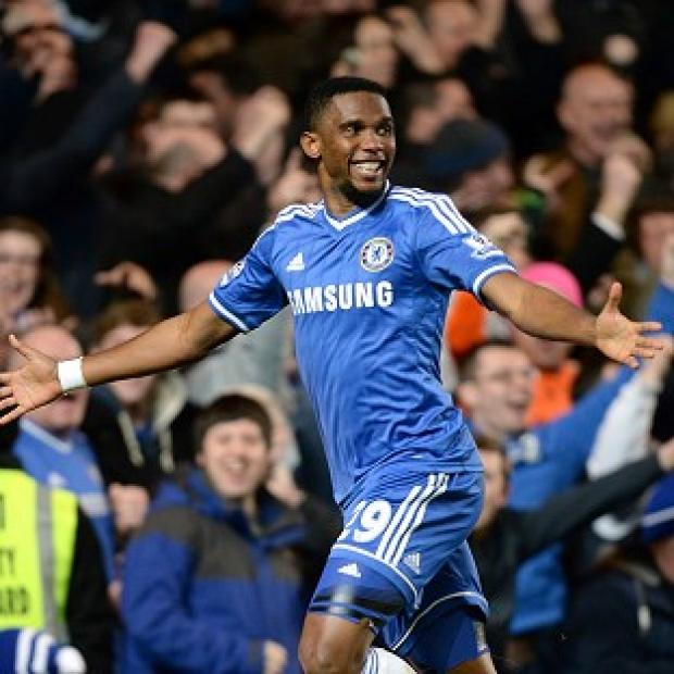 The Bolton News: Samuel Eto'o's hat-trick won the game for Chelsea