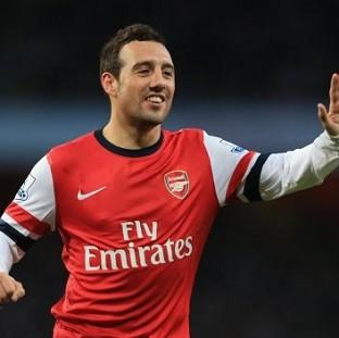 Santi Cazorla scored twice for Arsenal