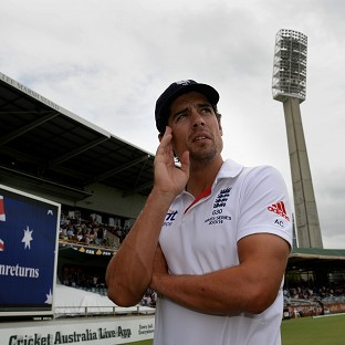 Alastair Cook has admitted the time might be right for a change of England captain