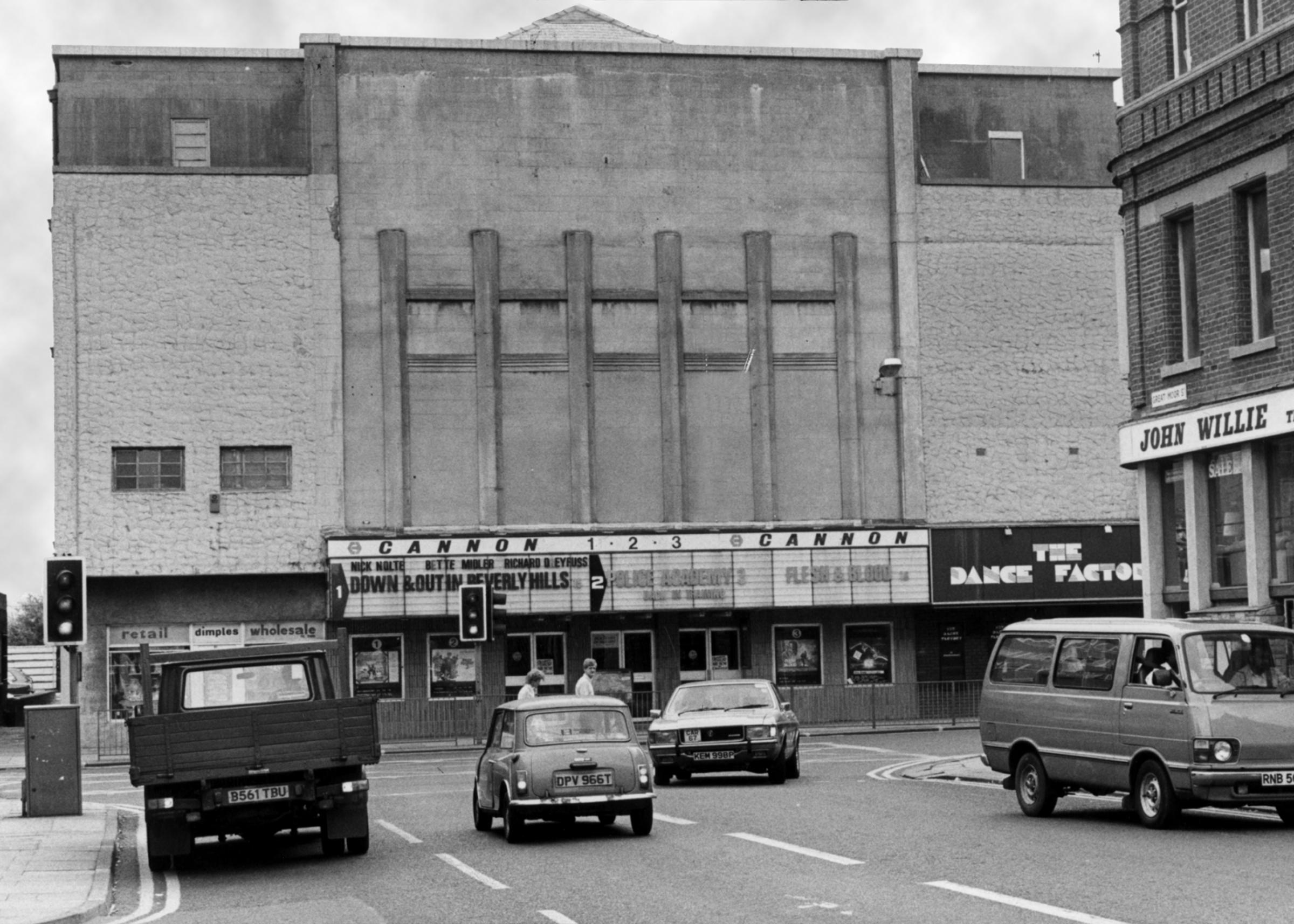 The Bolton News: The Cannon, formerly the Lido, was the last cinema to close in the town centre
