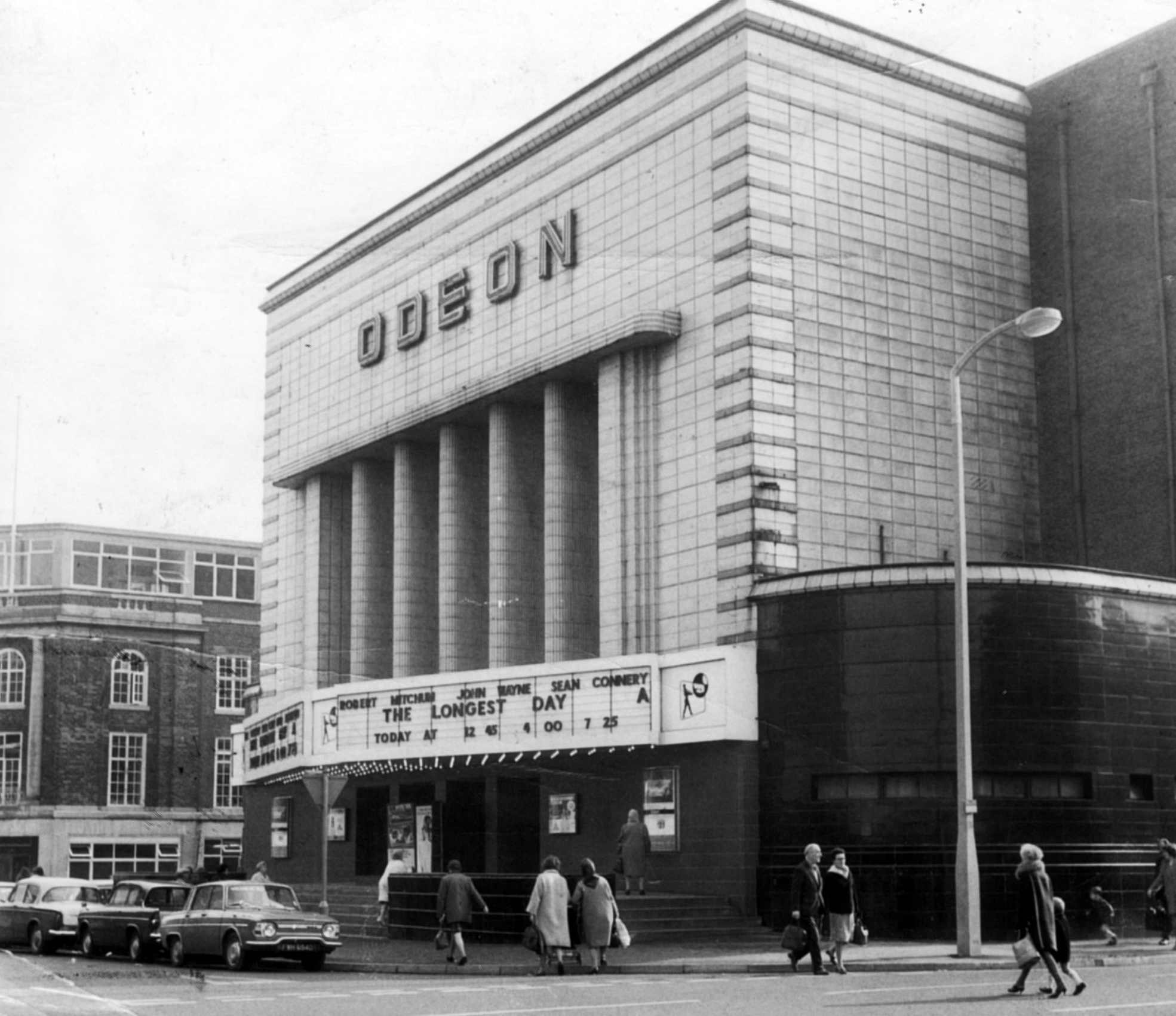 The Bolton News: The Odeon, Ashburner Street in 1969