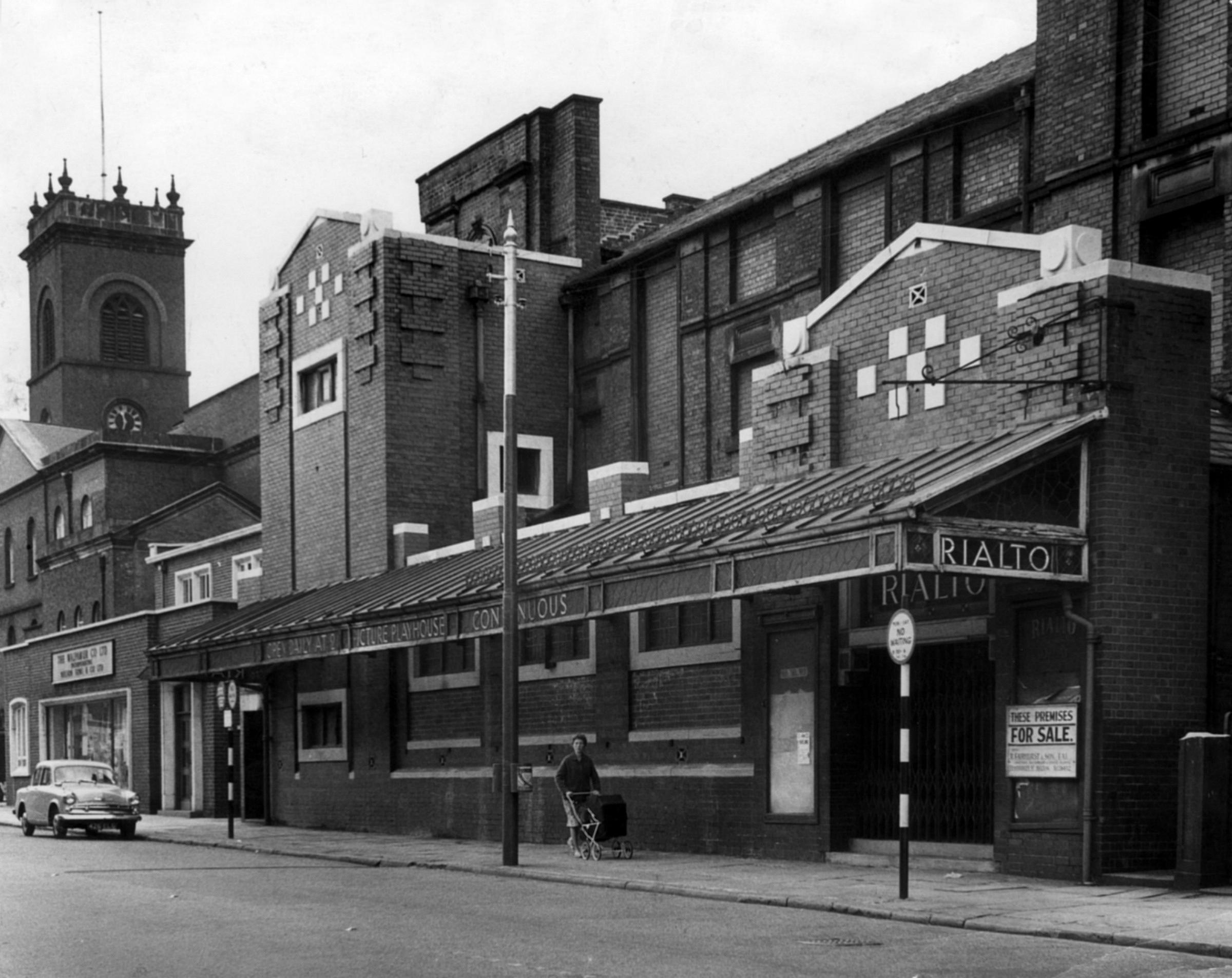 The Bolton News: The Rialto Picture Playhouse, in St George's Road, up for sale in 1962