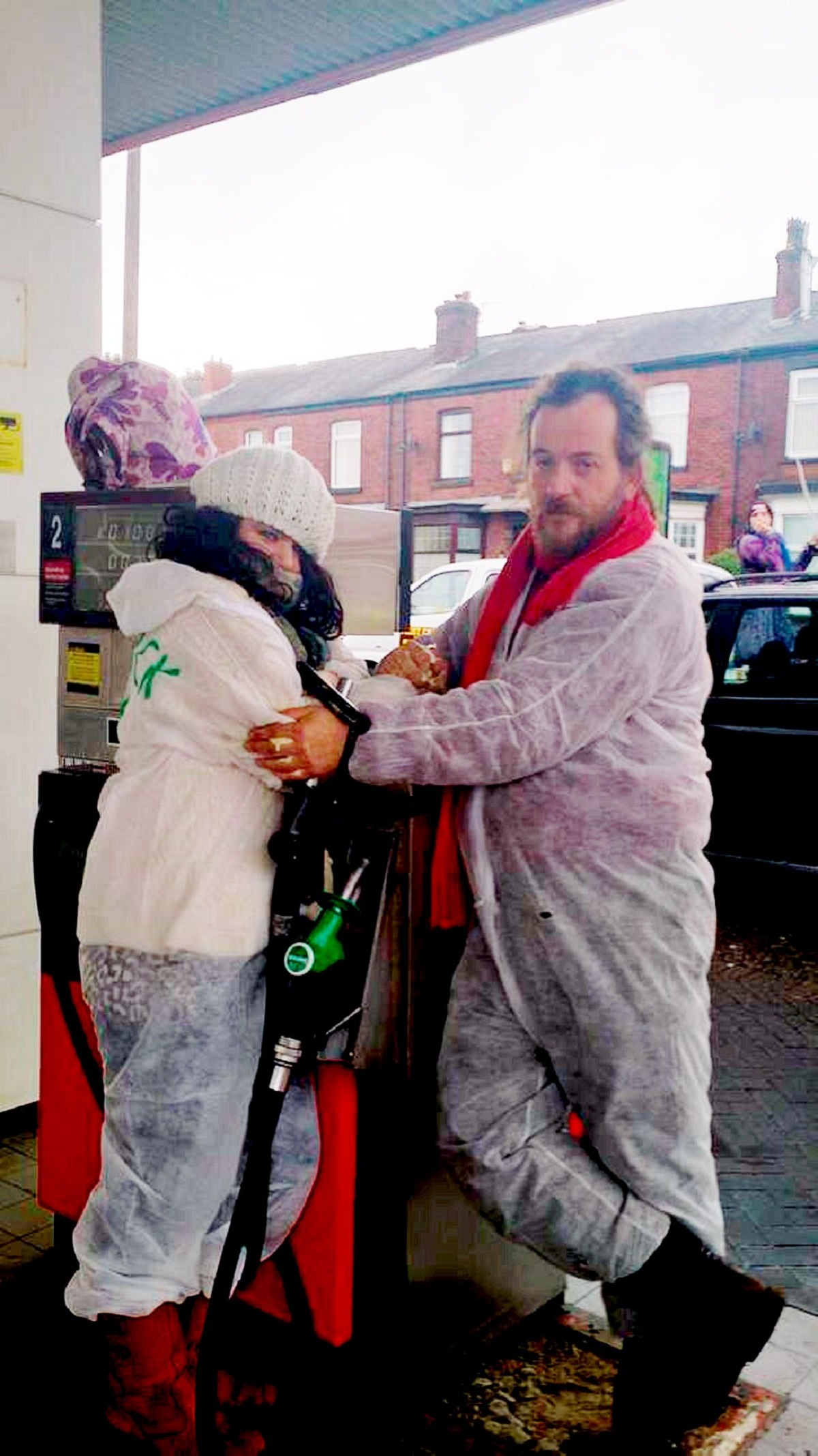 Anti-fracking protesters who glued themselves to pumps were at wrong petrol station