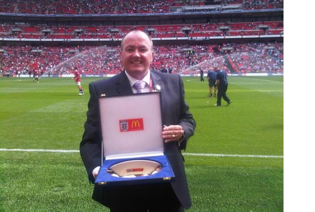 The Bolton News: Bolton, Bury and District Football League chairman Warren Barlow