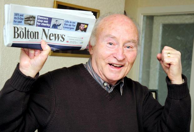 Brian Derbyshire found his lucky numbers inside The Bolton News