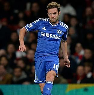 Juan Mata is attracting attention from Manchester United