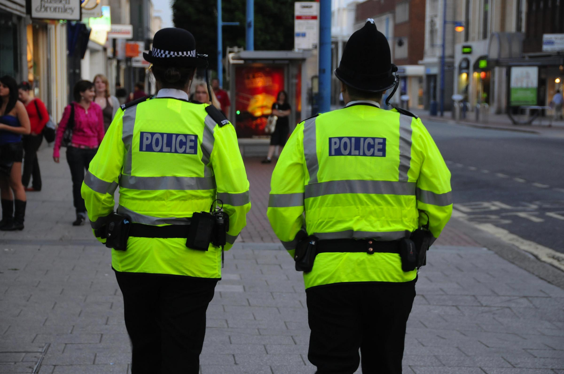 Number of police on the beat in Bolton is falling