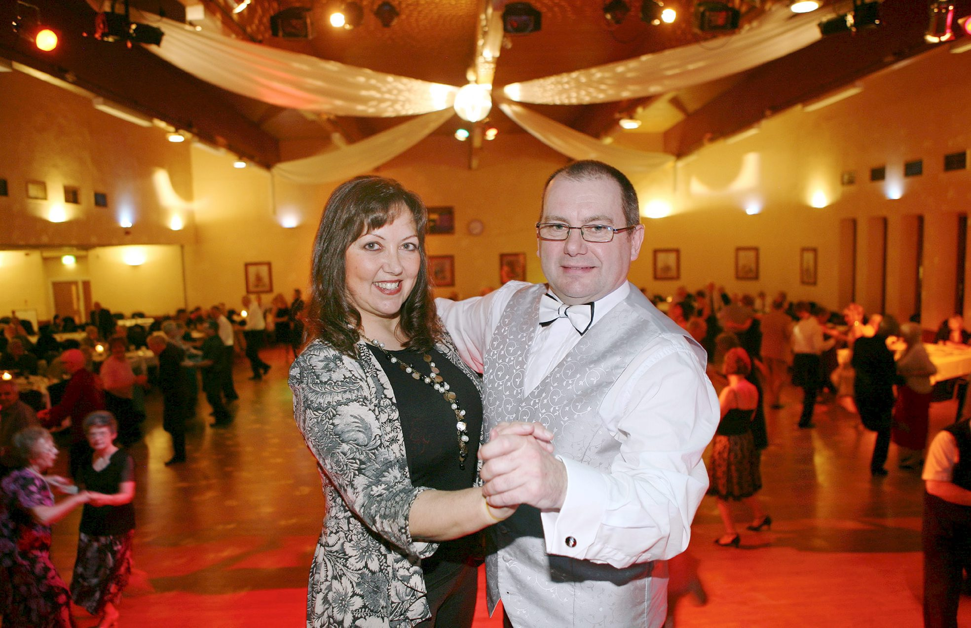 Having a ball: 'Golden era' of dancing makes comeback at Radcliffe Civic Suite