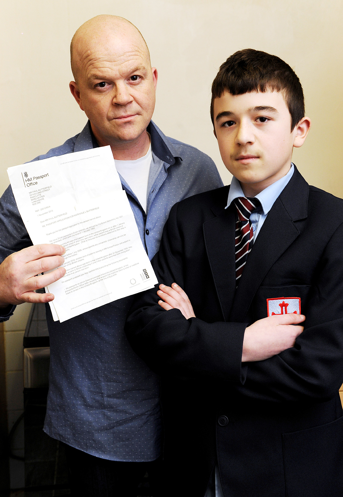 British schoolboy told he is technically Italian