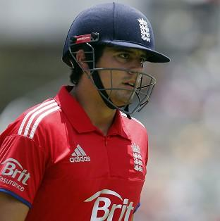 Alastair Cook wants to continue as England captain (AP)