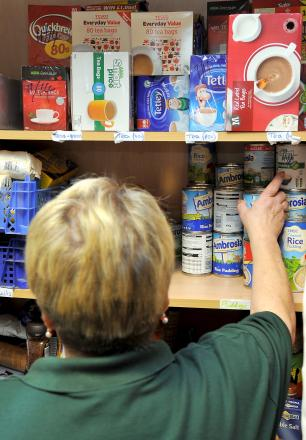 More and more people are turning to food banks
