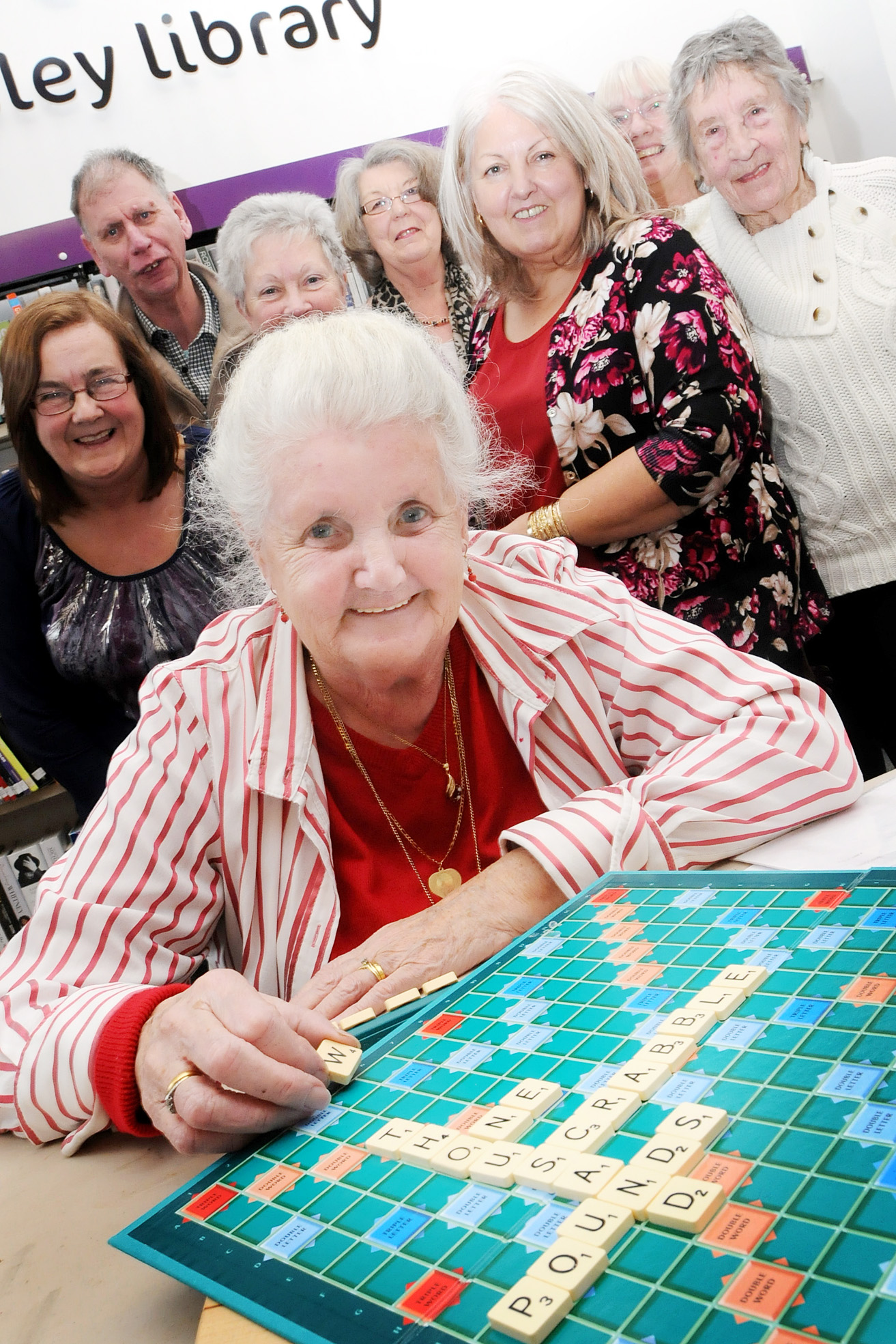 Fight to save library helped - by a scrabble club
