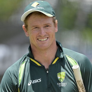 George Bailey is concentrating on Australia's T20 series with England