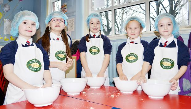 The Bolton News: Pupils Ella Royse, Jolie Smethurst, Mia O'Ha