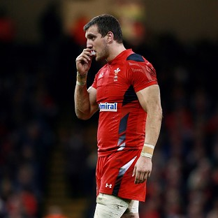 Sam Warburton will start on the bench against Italy