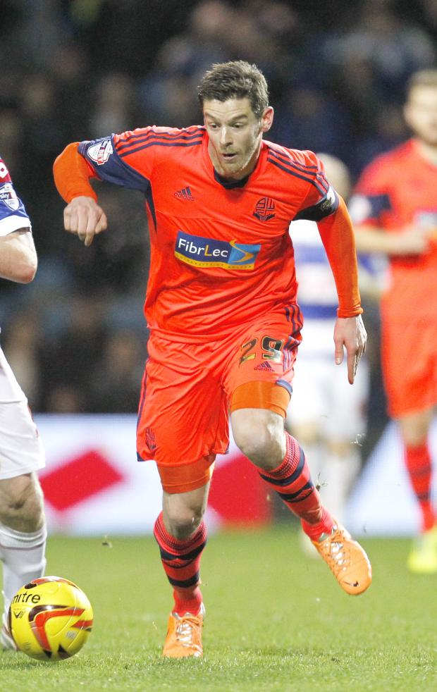 The Bolton News: Lukas Jutkiewicz has been a big hit at Wanderers but will he return?
