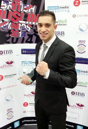 Haroon Khan cannot wait to get back in the ring on Friday night