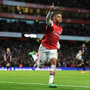 Alex Oxlade-Chamberlain scored twice for Arsenal