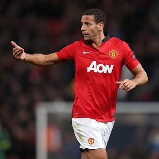 Rio Ferdinand, pictured, has been used sparingly by David Moyes this season