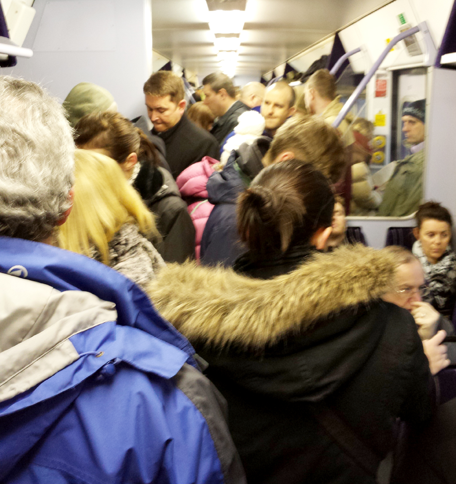 'Bolton commuter trains are worse than cattle trucks'