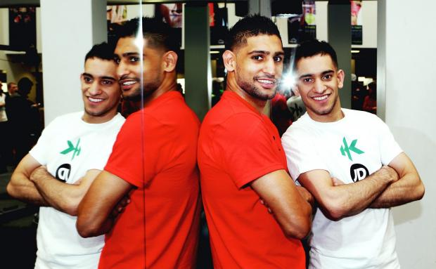 The Bolton News: Amir and Haroon Khan are promoting the Mother Tongue Other Tongue project