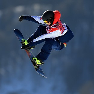 Jamie Nicholls is through to the final in Sochi