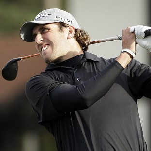 Andrew Loupe carded an eight-under-par 63 to lead in California (AP)