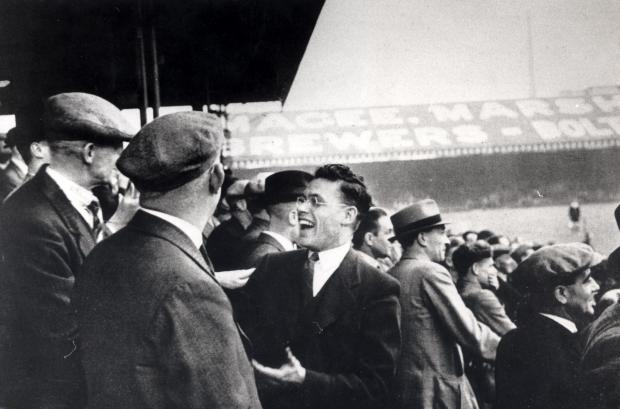 The Bolton News: Good-natured spectators at Burnden Park in 1937