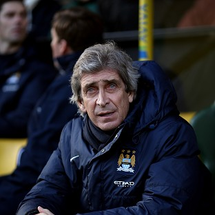 Manchester City's Manager Manuel