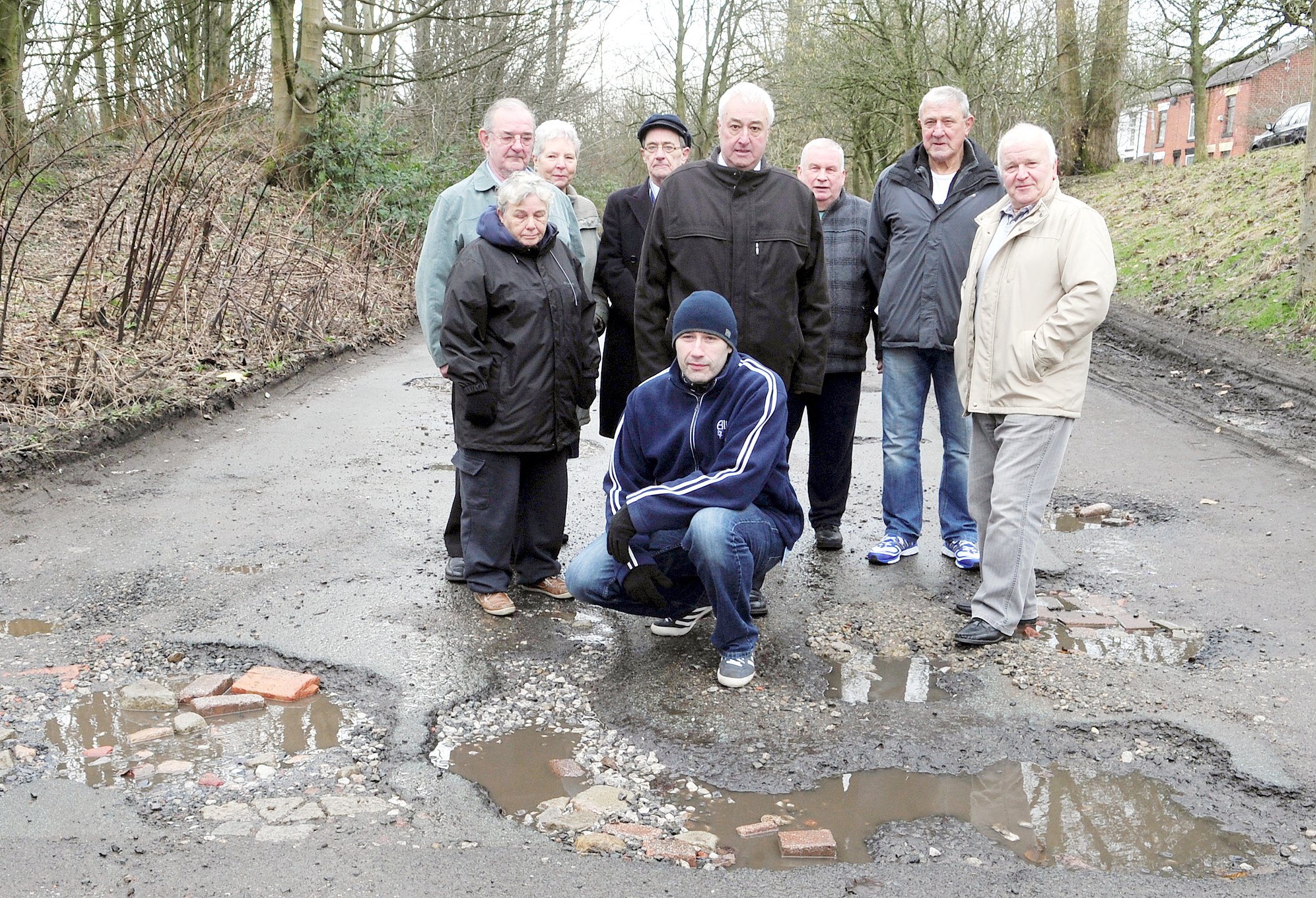 Darcy Lever pothole hell may end if new cycle route goes ahead