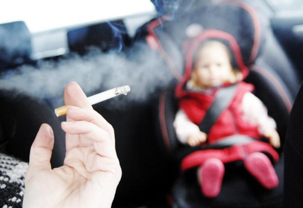 Bolton MPs are in favour of a ban on smoking in cars while children are present