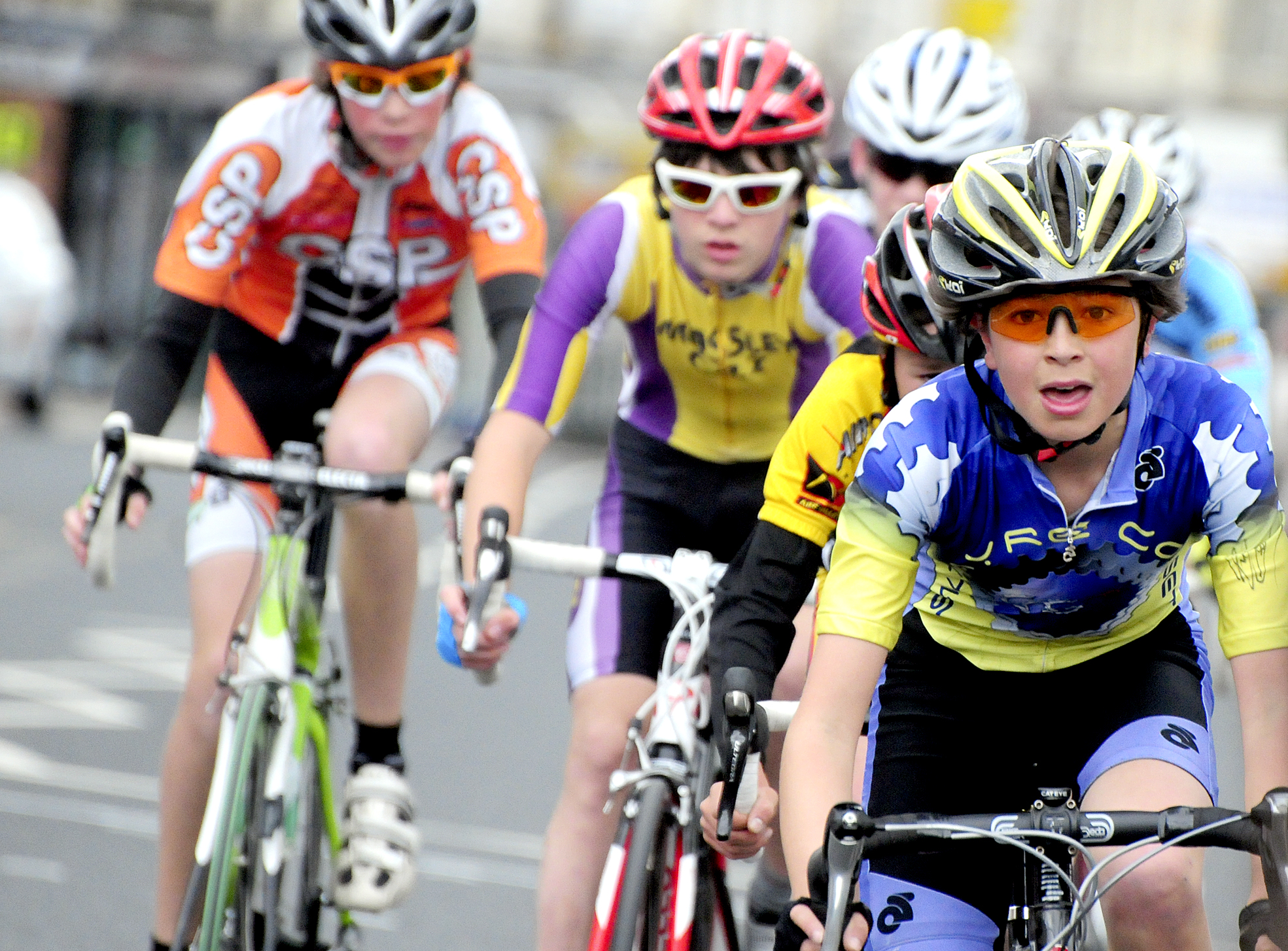 The Bolton Arena Youth Cycle Races at the Horwich Festival of Racing in 2012
