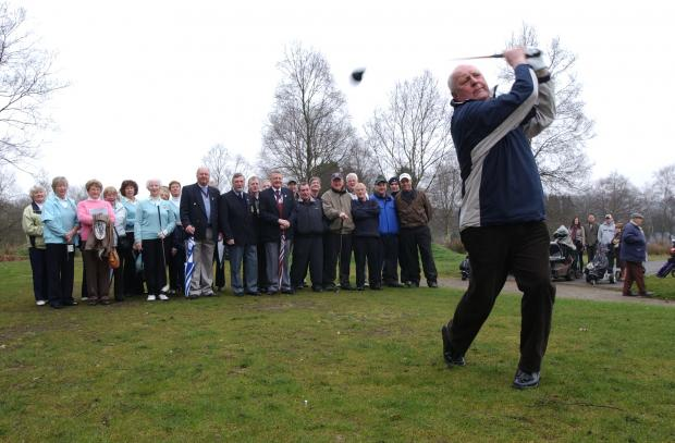 Players in action at the existing Regent Park Golf Club