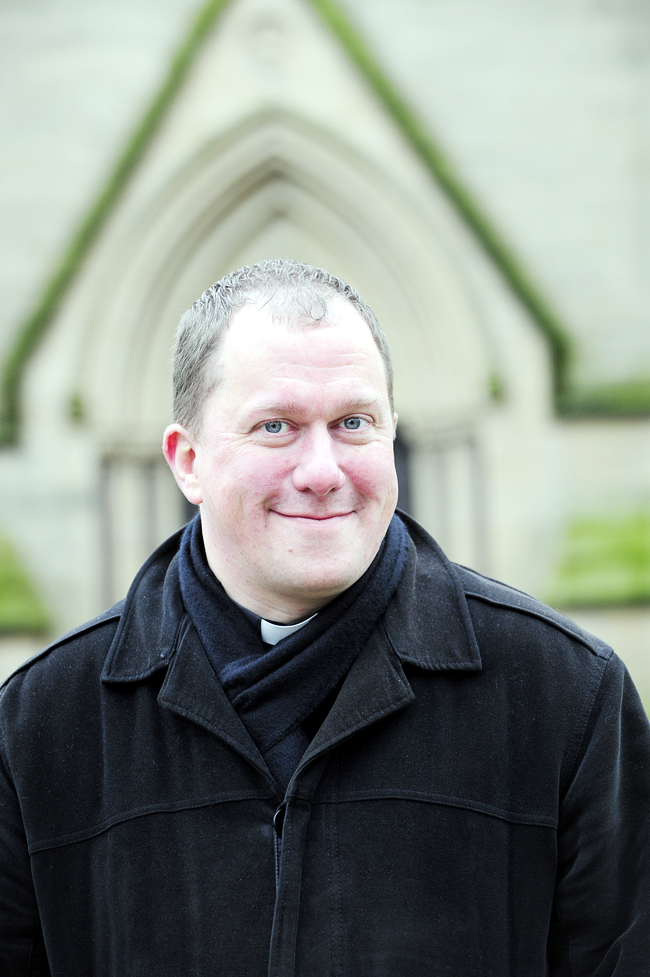 'Happiness is about contentment and peace', says Vicar of Bolton