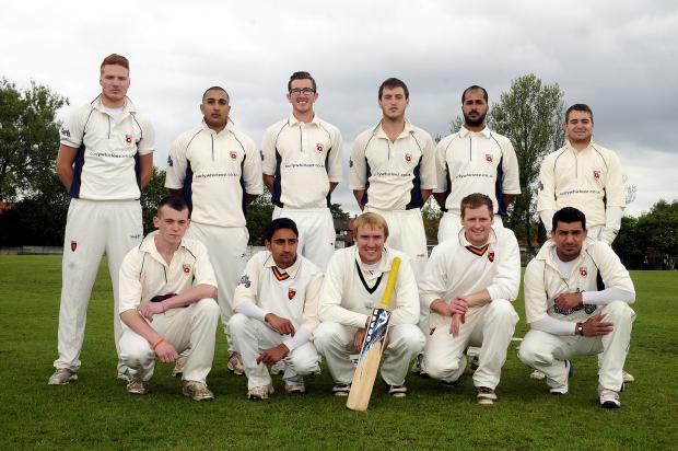 The Bolton News: Bury Cricket Club's first team who are one of the many clubs to move out of the Manchester Association in recent years