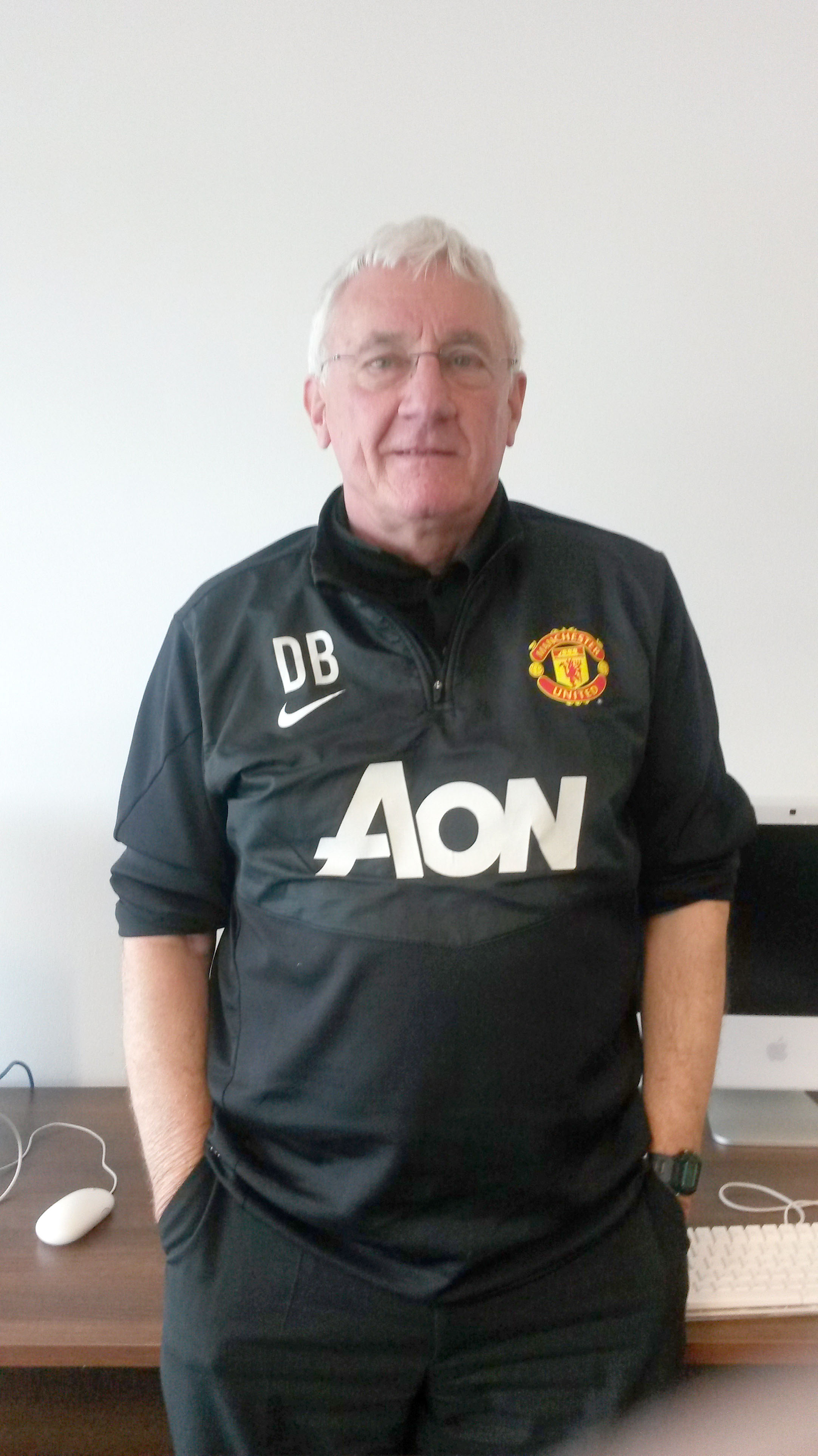 Dave Bushell has made a big impact at Manchester United down the years, but will always be a Wanderers fan