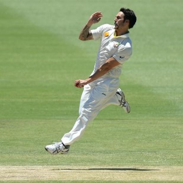 The Bolton News: Mitchell Johnson claimed four wickets