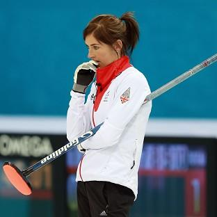 Eve Muirhead's five-point steal clinched victory for Great Britain over Japan