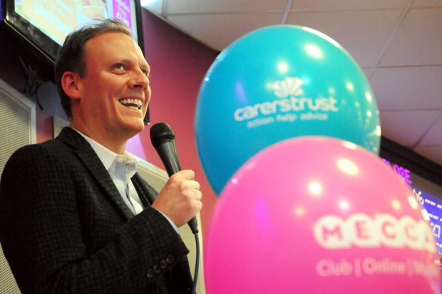 Antony Cotton at Mecca Bingo