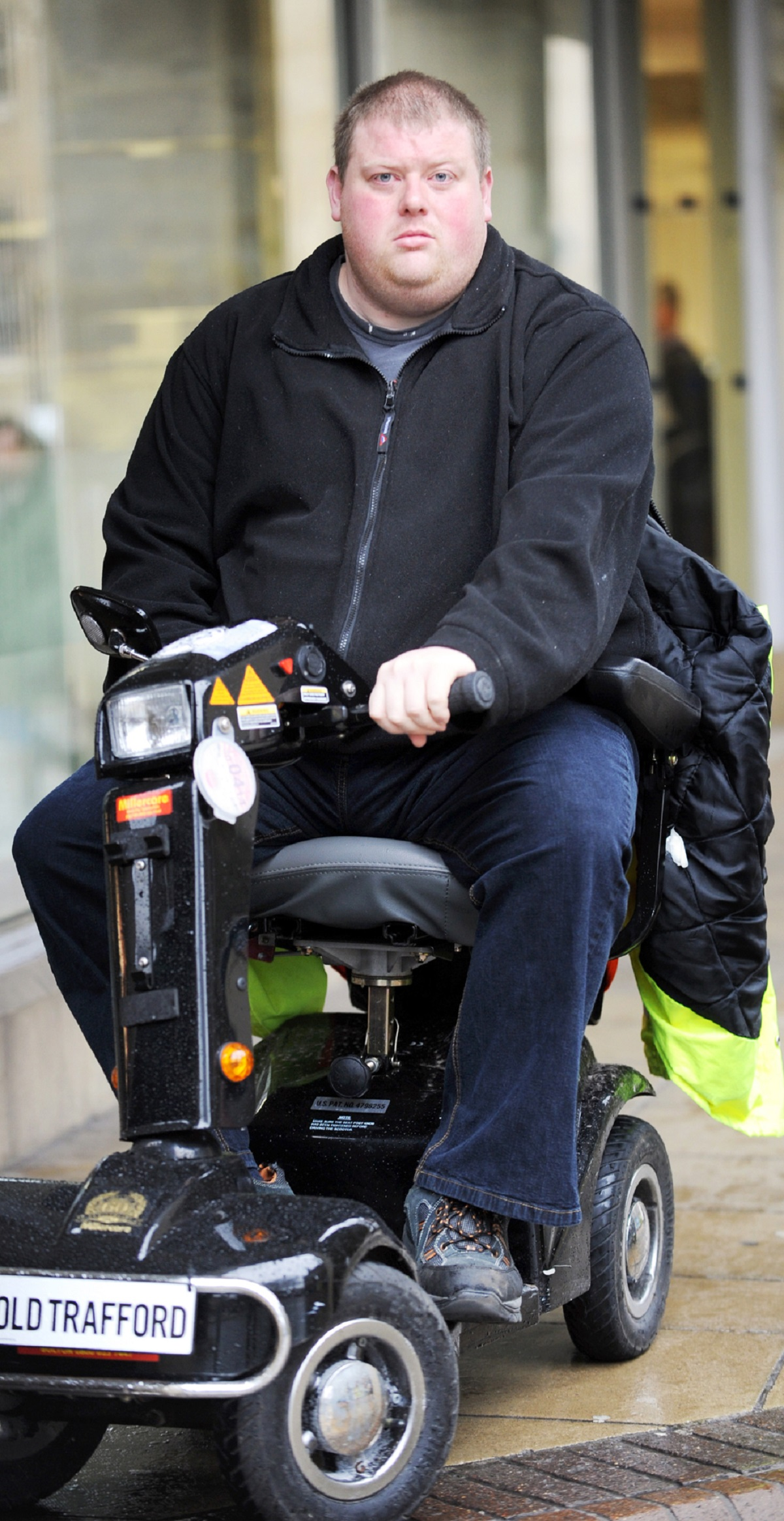 Disabled former steward Steven Lucas